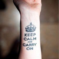 小臂英文纹身图片