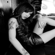 女生纹身图案大全 性感女郎野性诱惑