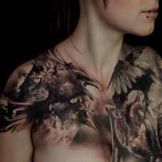 性感部位个性纹身图片大全