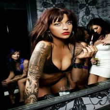 花臂纹身图案大全女生个性时尚