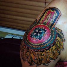 女生纹身图案大全肩部性感唯美