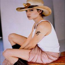 美女手臂唯美简单纹身图案精选