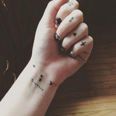 简单小图像纹身精选大全