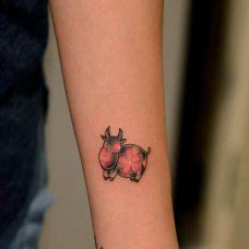 纹身小胳膊图片个性图案