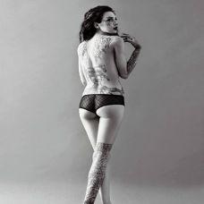 美女性感纹身唯美图片大全