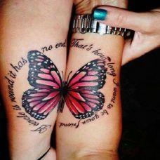 情侣手上个性时尚纹身图案