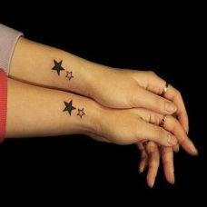 情侣手臂图腾纹身图片小清新