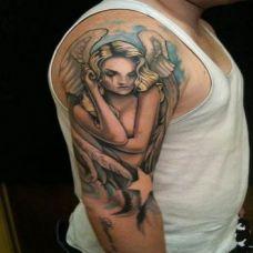 男性手臂纹身图案图片大全