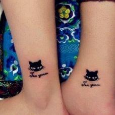 情侣脚踝纹身图案大全精选