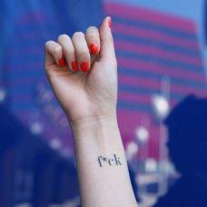手上纹身简单图片大全