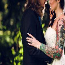 图腾情侣纹身图案愿得一人心白首不相离