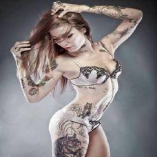 女生美女纹身图案大全