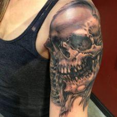 手臂个性纹身图案图片合辑