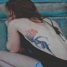 女生纹身图案大全腰部写真