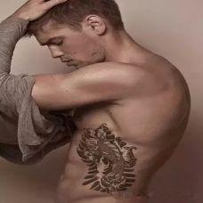 欧美范帅哥纹身图案大全