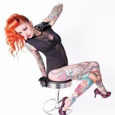 欧美美女纹身图片集锦