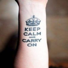 手臂上纹身图片女人素材