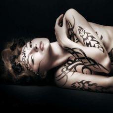 时尚性感女生纹身图案大全
