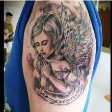 个性天使纹身图案大全