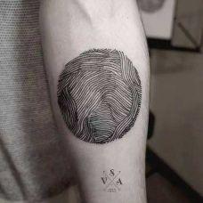 简易纹身图案男生个性图片