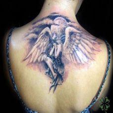 守护天使纹身图案大全