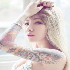 图片纹身美女精选图集