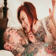 一生挚爱情侣纹身图片