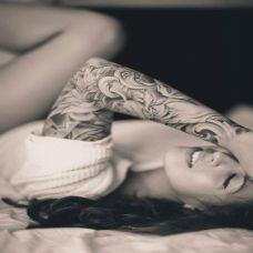女士纹身图手臂图案素材