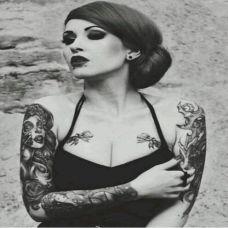 欧美纹身美女Alysha Nett图集