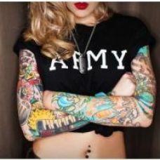 女生个性纹身图案大全