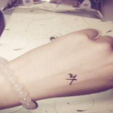霸气个性手部纹身图案