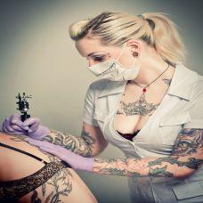 欧美范美女纹身图案大全