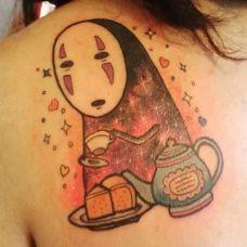 动漫人物纹身图案图片