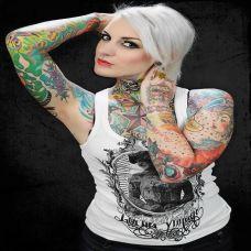 欧美美女手臂艺术纹身图片