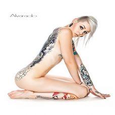 性感美女艺术纹身图片