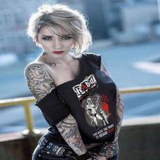 欧美性感沙滩美女纹身图集