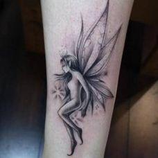 花精灵纹身图案图片大全