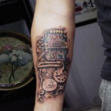 小臂纹身图片个性图案