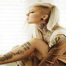 英伦美女纹身图集