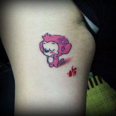 女生猴子纹身图片大全推荐