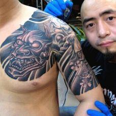 经典男生纹身图片