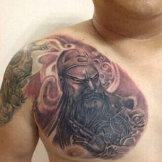 三国人物个性纹身刺青图片