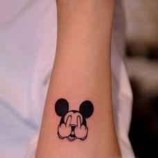 米老鼠纹身图案图片素材