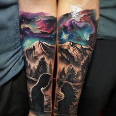 情侣纹身图案图片欣赏