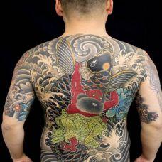 日式纹身图案图片素材