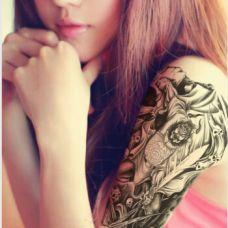 钟馗纹身图案图片素材
