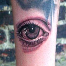 眼球纹身图案艺术图片