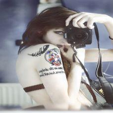 纹身女生个性图片合辑