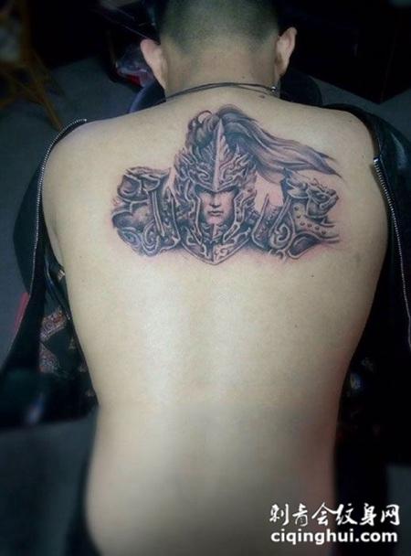 在这张后背个性赵子龙纹身图案,您可能还会喜欢王者荣耀,手臂