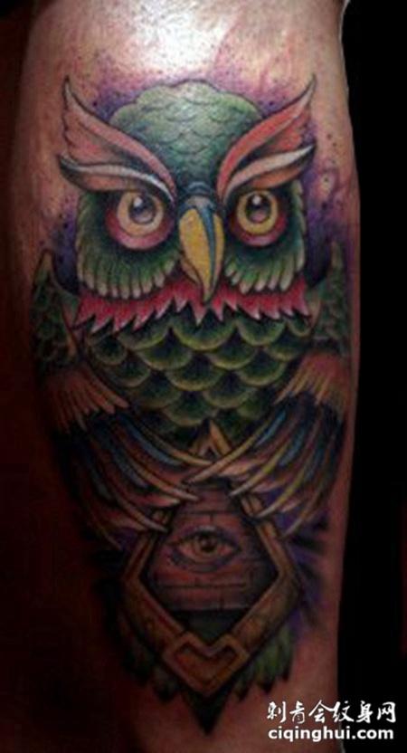 猫头鹰纹身